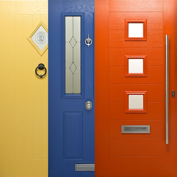 Choose From The Standard Or Premium Range Of Colours To Create A Door That  Is Bespoke To Your Home And Matches With Your Interior Design.